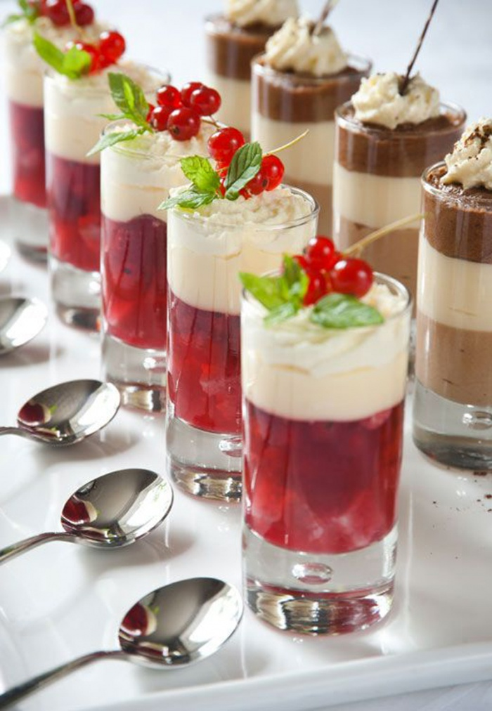 Wedding Reception Mini Desserts Wedding Ideas Moonlight Blog