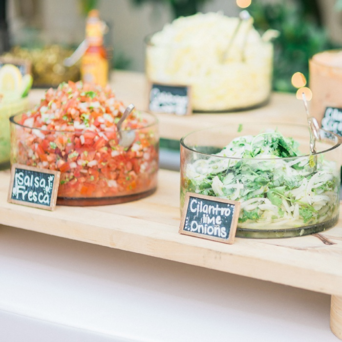 4 Fun Wedding Tail Hour Food Station Ideas