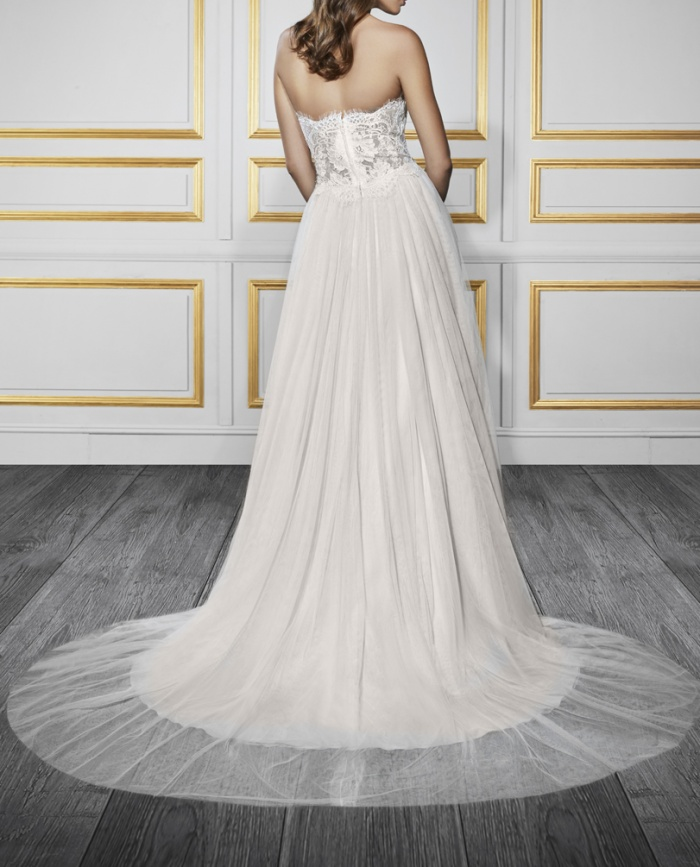 Wedding Dress Trains Which Style Is Right For You