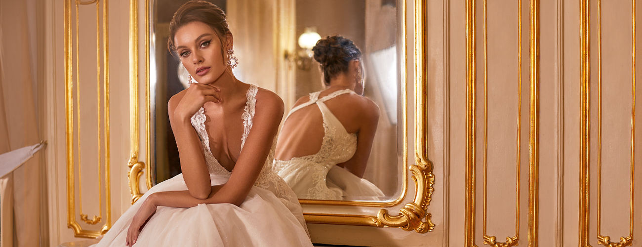 Moonlight Collection Classic Elegant Wedding Dresses