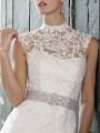 Moonlight Cap7 lace long sleeve and sheer beaded bridal jackets