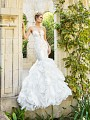 Moonlight Couture H1358B on trend couture lace wedding dresses and beaded wedding dresses