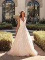 Tulle and Lace Ball Gown Wedding Dress Moonlight Couture H1450