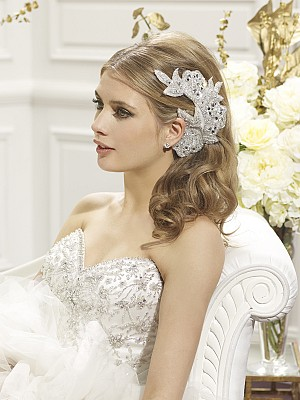 Moonlight Headpieces HP 103 beautiful wedding day hair accessories