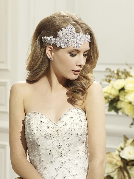 Moonlight Headpieces HP 107 beautiful wedding day hair accessories