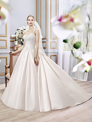 Moonlight Collection J6392 elegant bridal gowns and classic wedding dresses