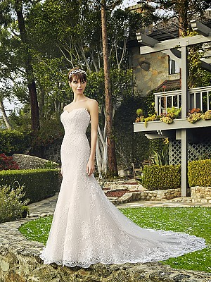 Moonlight Collection J6509 elegant bridal gowns and classic wedding dresses