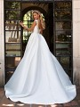Moonlight Collection J6701 sleek mikado ball gown with beautiful scoop back