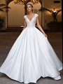 Moonlight Collection J6707 affordable wedding dresses with low backs and beading