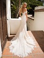 Moonlight Collection J6710 sexy mermaid wedding dress with beautiful train