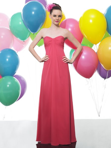 Moonlight MT9177 affordable bridesmaid dresses available in long and short lengths