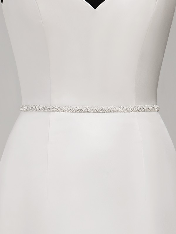 Moonlight Sashes SASH-116 Beaded bridal sashes are the perfect accent for your bridal gown
