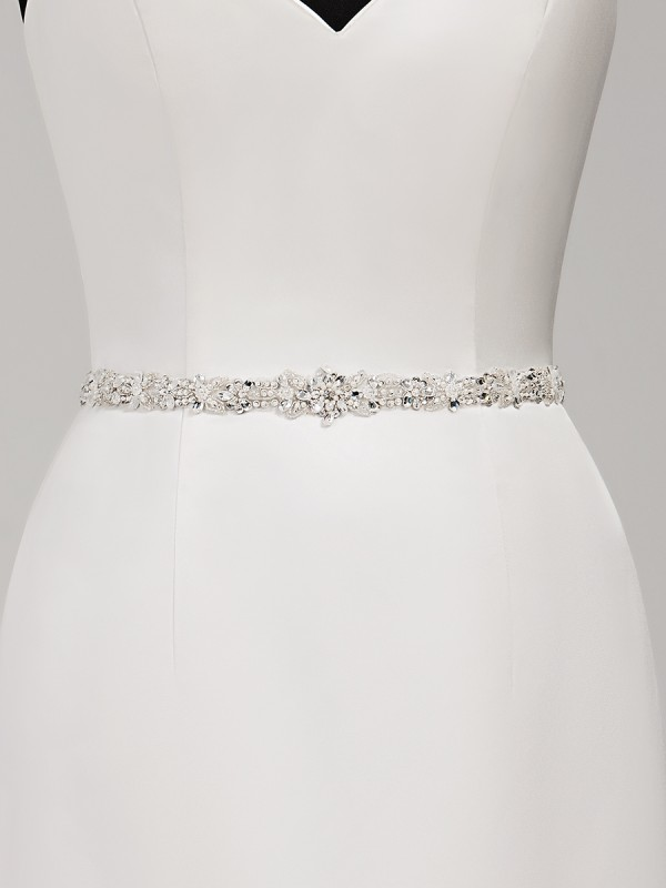 Moonlight Sashes SASH-121 Beaded bridal sashes are the perfect accent for your bridal gown