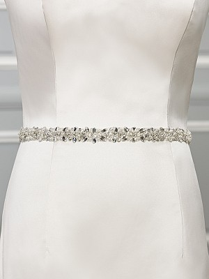 Moonlight Sashes Sash 65 Beaded bridal sashes are the perfect accent for your bridal gown