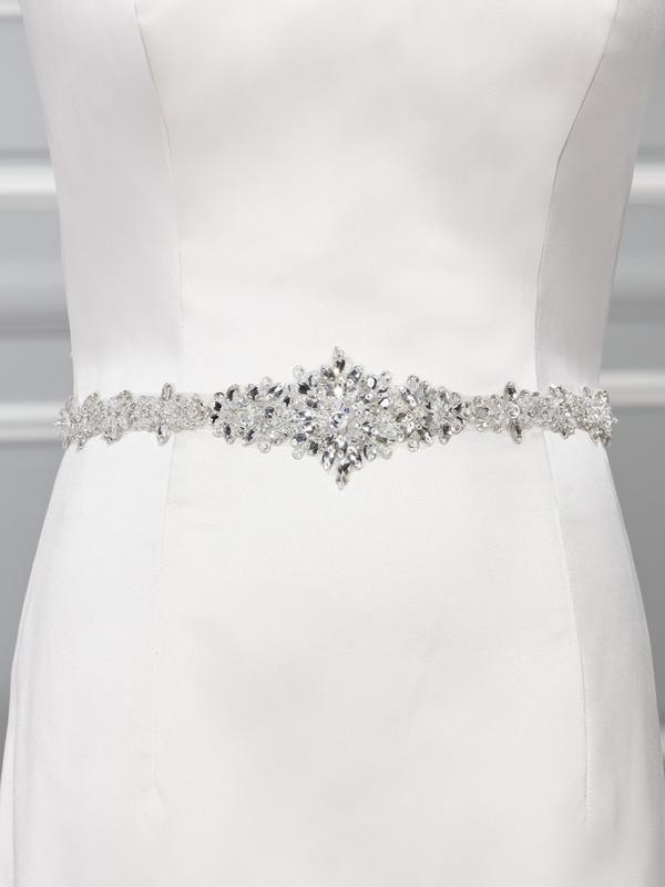Moonlight Sashes Sash 66 Beaded bridal sashes are the perfect accent for your bridal gown