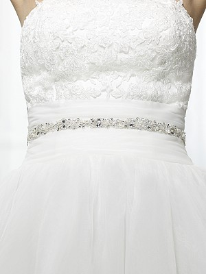 Moonlight Sashes Sash 57 Beaded bridal sashes are the perfect accent for your bridal gown