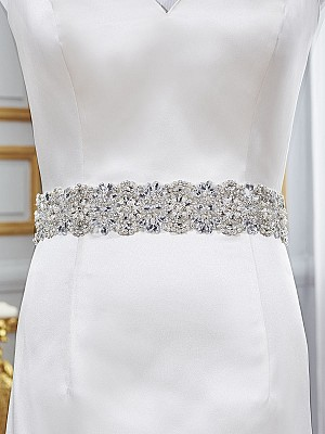 Moonlight Sashes Sash 74 Beaded bridal sashes are the perfect accent for your bridal gown