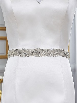 Moonlight Sashes Sash 75 Beaded bridal sashes are the perfect accent for your bridal gown