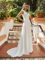 Moonlight Tango T935 comfortable bohemian lace bridal gowns for the casual bride